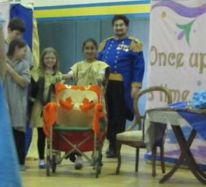EAGLE students participate in a performance of Opera for the Young.