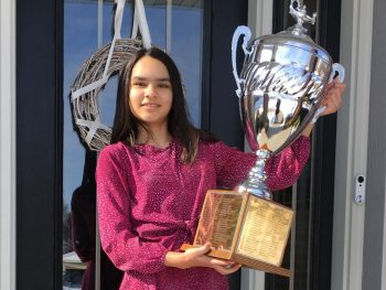 EAGLE's Maya Jadhav once again headed to the 2021 Scripps National Spelling Bee